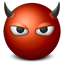 Emoticon Devil icon