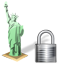 Statue of Liberty Lock icon