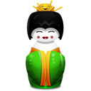Geisha china green-128