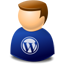 User web 2.0 wordpress Icon