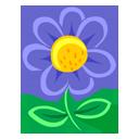 Blue Flower-128