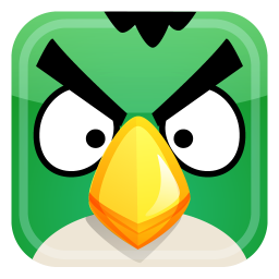 Angry Green Bird Icon Download Angry Birds Icons Iconspedia