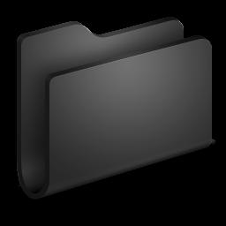 Generic Black Folder