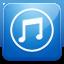 iTunes blue icon