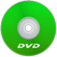 DVD Green icon
