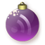 Feed Christmas Purple icon