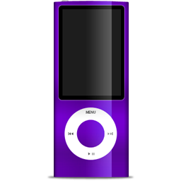 iPod nano purple