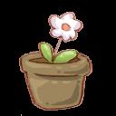 Recycle Bin Flower Empty-128