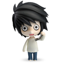 L Phone Icon Download Death Note Icons Iconspedia