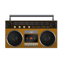 Boombox Orange-128