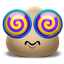 Emoticon Dizzy Icon