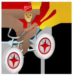 Monkey bicycle