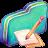 Note Green Folder-48