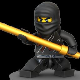 Lego Ninja Black