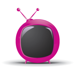 Red Rounded Tv Icon Download Television Icons Iconspedia
