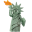 Lego Statue Of Liberty Icon