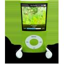 Green iPod Nano-128
