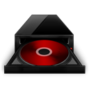 Cd Rom black red-128