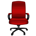 Red Office Chair-128