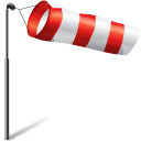 Wind flag storm-128