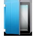 iPad 2 black blue cover-128