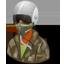 Pilotmilitary Female Dark icon