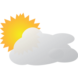 Mostly Sunny weather