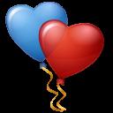 Balloons Hearts-128