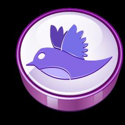 Twitter purple cooky