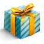 3D Gift icon