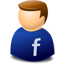 User web 2.0 facebook icon