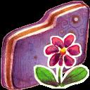 Flower Violet Folder-128