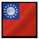 Myanmar flag-128