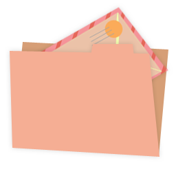 Carton folder mail alt