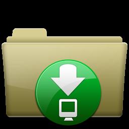 Folder Download Brown