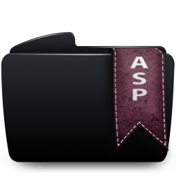 Folder black asp