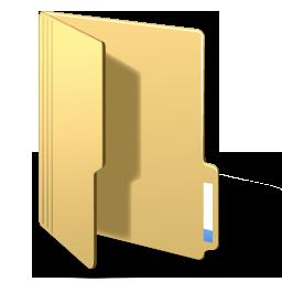Folderopened yellow