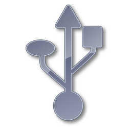 Symbol USB Grey