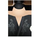 Kimono women black-128