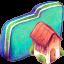 Home Green Folder icon