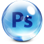 Photoshop Glass Icon