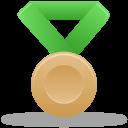 Metal bronze green-128