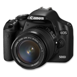 Canon 500D side