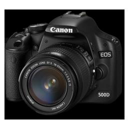 Canon 500D side