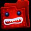 Creature Red Folder icon