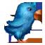 Plush Twitter Bird Icon