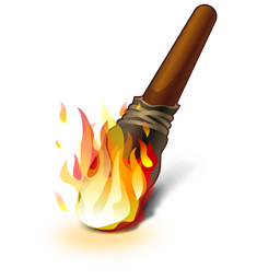 Fire Torch Icon Download Pirates Icons Iconspedia
