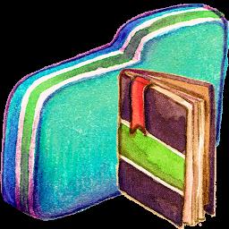 Notebook Green Folder