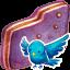 Birdie Violet Folder icon