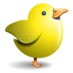 Twitter yellow bird